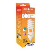 Lampada Ourolux Spiralux Eletrônica Alta Potência 33W 220V Luz Branca 6400K