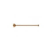 Ligação Flexivel Rigido Deca Red Gold Comprimento 40cm Ref 4606.GL.040.RD