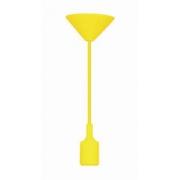 Pendente Taschibra Dot Color Amarelo 1 Soquete E-27 Ref 15050267