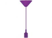 Pendente Taschibra Dot Color Roxo 1 Soquete E-27 Ref 15050282