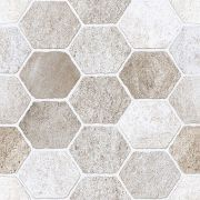 Piso Incopisos 58x58 Ref: 57009 Extra Hexagono Com 2,32mts na Caixa