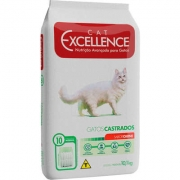Ração Cat Excellence Castrado Carne 10,1Kg 4388