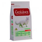 Ração Cat Excellence Castrado Carne 1Kg 4364