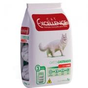 Ração Cat Excellence Castrado Carne 3Kg 4371