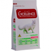 Ração Cat Excellence Castrado Salmão 1Kg 4142