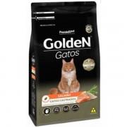 Ração Golden Fórmula Gatos Adultos Castrados sabor Salmão 6kg
