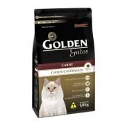 Ração Golden Gatos Castrados Sabor Carne 1Kg