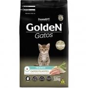 Ração Golden Gatos Filhotes Sabor Frango 3Kg