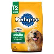 Ração Pedigree Adulto Carne & Vegetais 3Kg