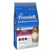 Ração Premier Ambientes Internos Para Cães Sênior Raças Pequenas 2,5kg