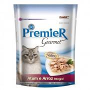 Ração Premier Gourmet para Gatos Adultos Sabor Atum e Arroz 70g