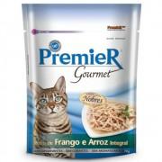 Ração Premier Gourmet para Gatos Adultos Sabor Frango e Arroz 70g