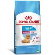 Ração Royal Canin Cães Filhotes Puppy Mini Indoor 7,5Kg
