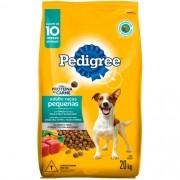 Ração Seca Pedigree para Cães Adultos Raças Pequenas 20Kg