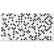 Revestimento Embramaco 33 x 57 Pastilha Black Brilhante Ref: 52908