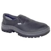 Sapato de Segurança Elástico Preto com Biqueira de Plástico N.39 Proteplus