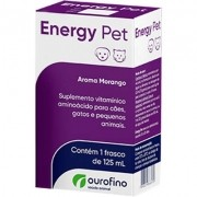 Suplemento Ourofino Energy Pet 125Ml