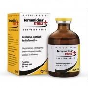 Terramicina Mais Injetável - Antibiótico e Anti-inflamatório oxitetraciclina e diclofenaco ? 50 mL - Zoetis