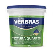 Textura com Quartzo Interno Externo Verbras Premium Branco Gelo 30 Kg