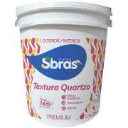 Textura Com Quartzo Sbras Branco Gelo 27kg