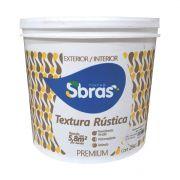 Textura Rústica Sbras Branco 27kg