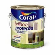 Tinta Coral Brilho e Proteção Acrílico Semi-Brilho Branco 3,6 Litros