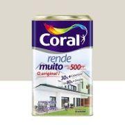 Tinta Coral Rende Muito Fosco Branco Gelo 18 Litros