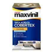Tinta Maxvinil Cobertex Semi-Brilho Branco Neve 18 Litros