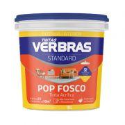 Tinta Verbras Pop Acrílico Fosco Standard Fosco Alga Marinha Balde Plástico 18 Litros