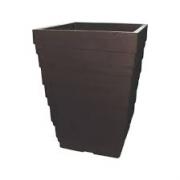 Vaso Para Planta Italia Quadrat 36 Marmore - Japi