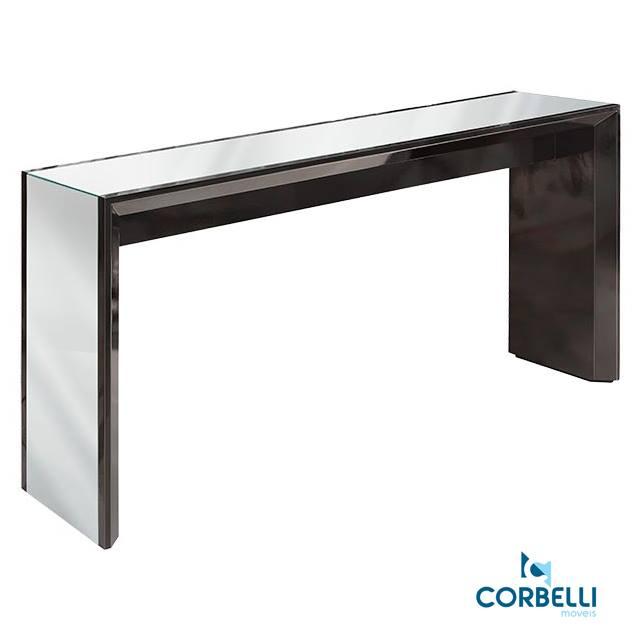 Aparador Corbelli Tandil Preta 140 x 40 x 80