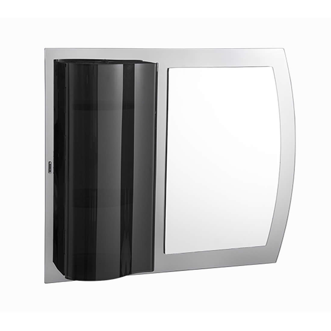 Armário Astra Com Espelho Onix 74 x 59,7 Ref EPP/O