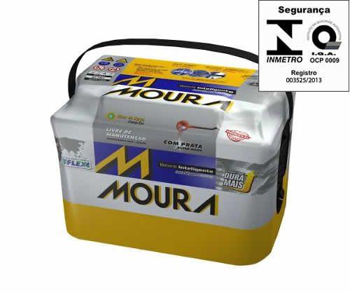 Bateria Automotiva Moura 78Ah (Amperes) 78LE - Polo Positivo Esquerdo