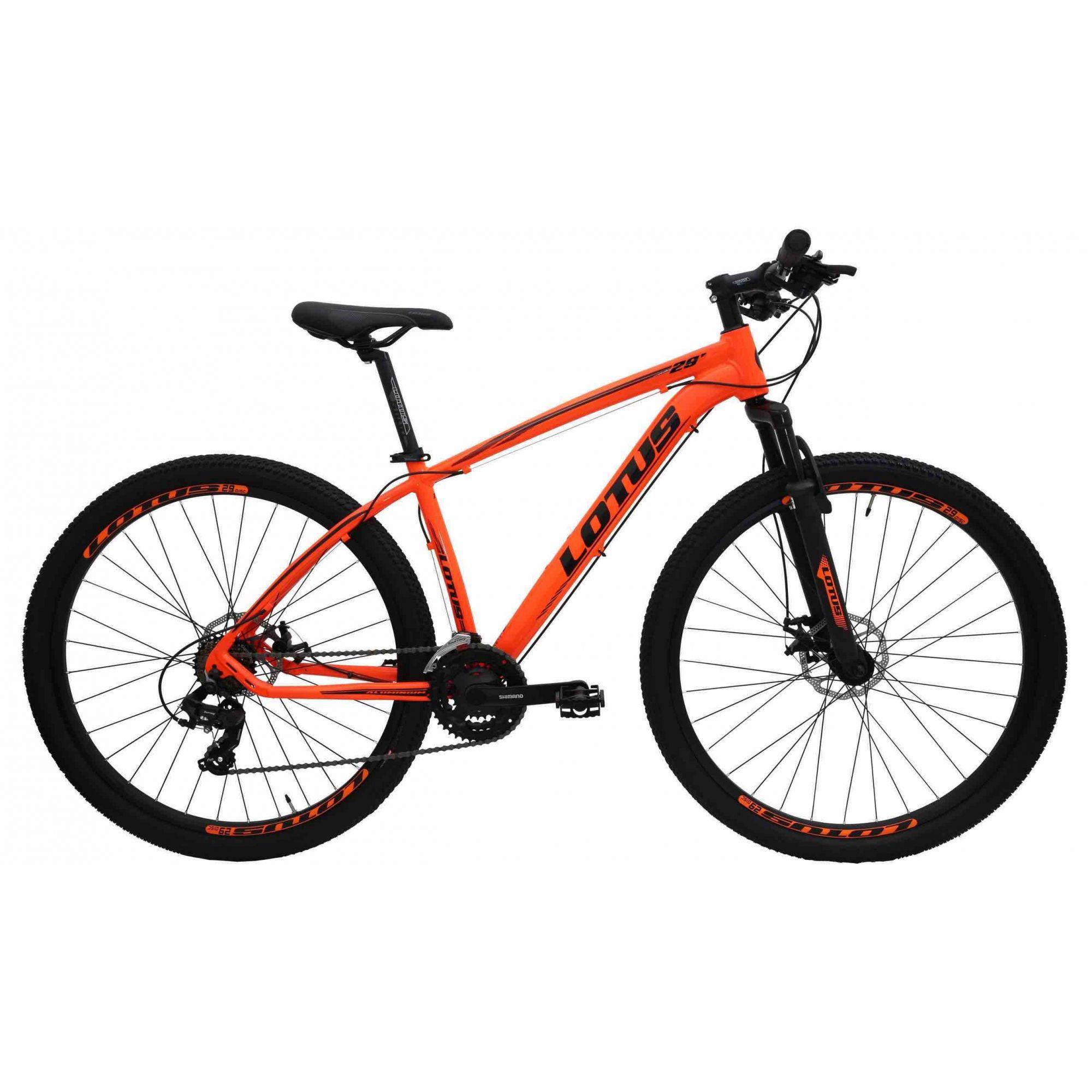 Bicicleta Aro 29 Bike Lotus ? ALUMINIUM Vermelho/Preto 318560