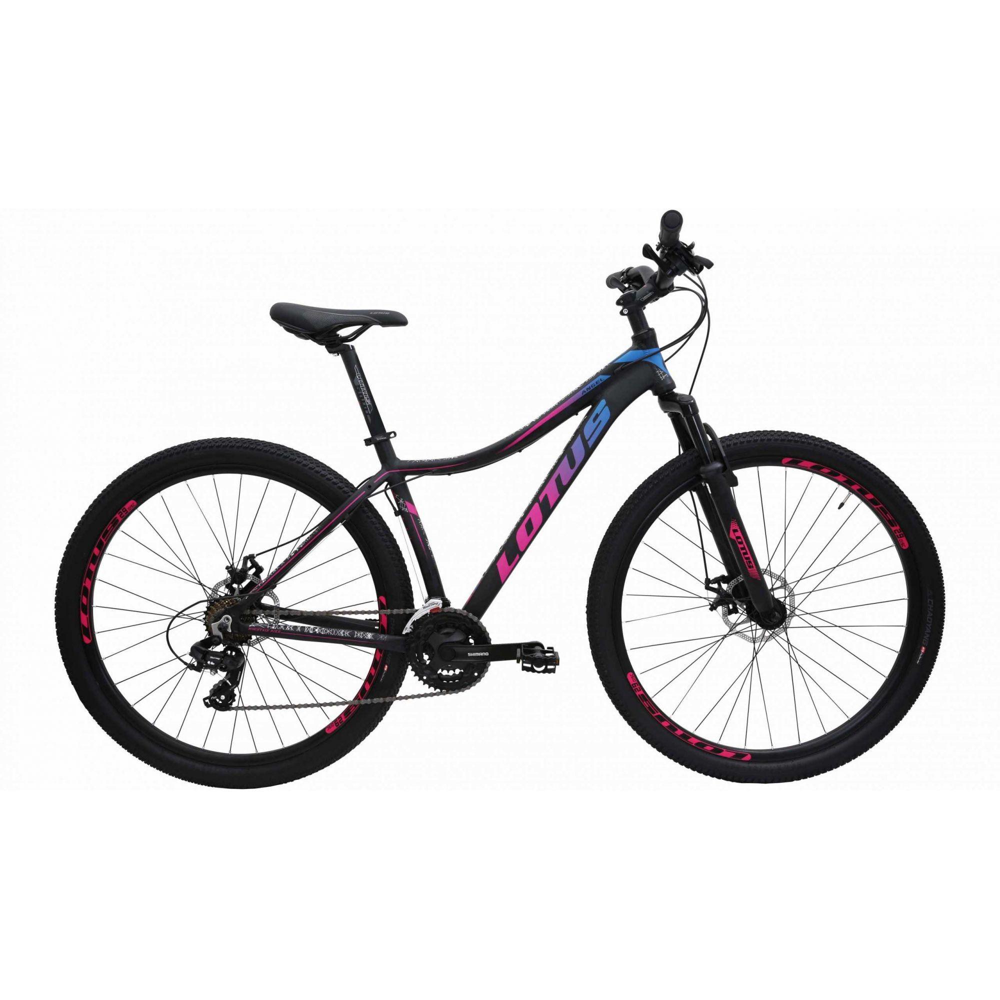 Bicicleta Aro 29 Cairu Al Lotus Angel F.D. Mec - 317343 Preto/Azul/Rosa