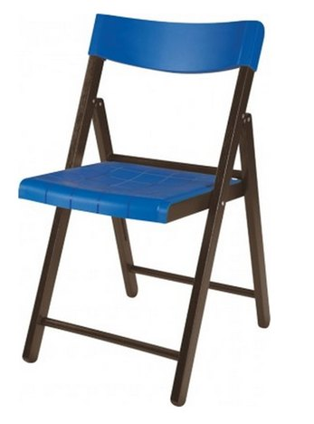 Cadeira Potenza Tramontina Tabaco Com Azul Ref 13794/084