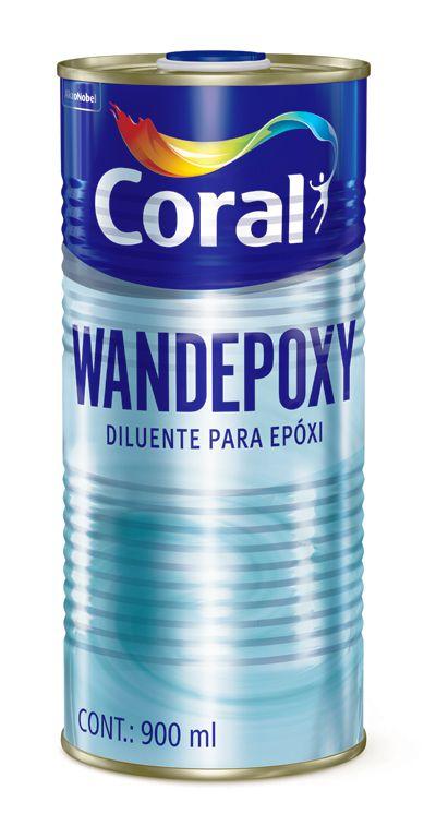 Catalizador Para Esmalte Coral Wandepoxy Amina Fundo 900 ml