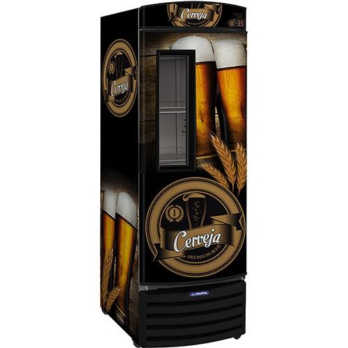 Cervejeira Vertical Gelopar GRBA-570PVA/PR Preta Ref 80216.09.2