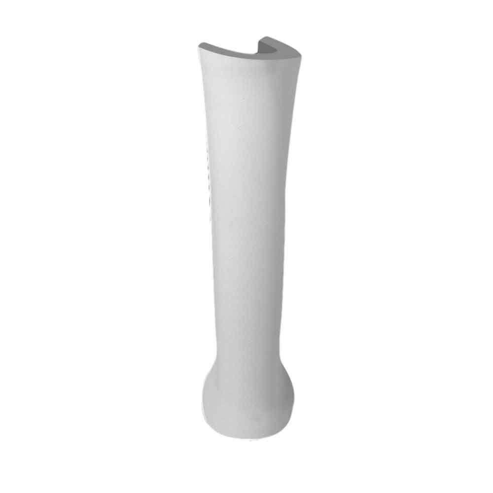 Coluna Para Lavatório Azálea Cinza Prata Celite
