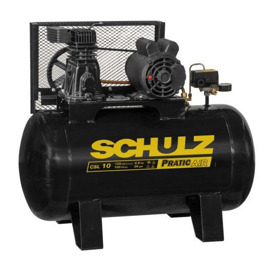 Compressor de Ar Pratic Air CSA 10/100L 2CV Schulz