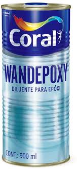 Diluente Coral Wandepoxy 900 ml