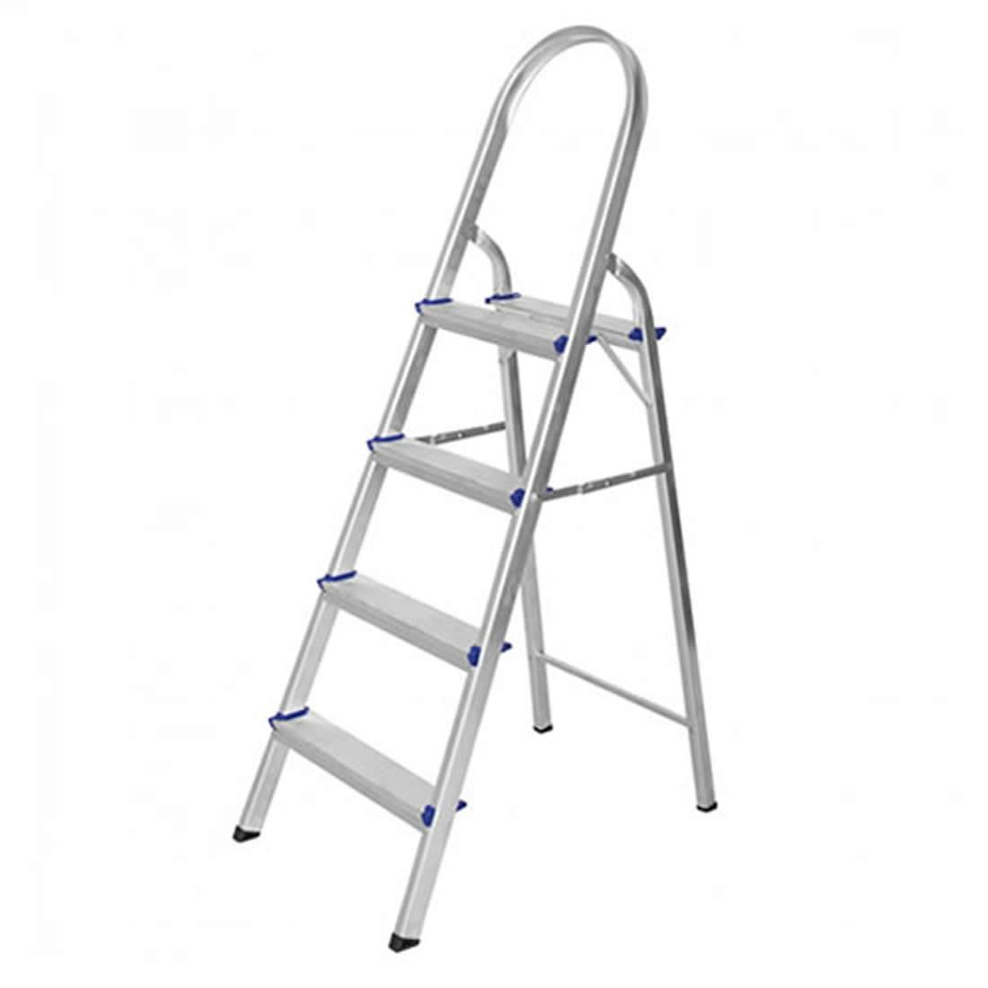 Escada Astra Dome Alumínio 4 Degraus Ref ESC1/4A