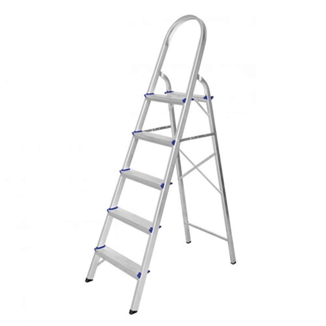 Escada Astra Dome Alumínio 5 Degraus Ref ESC1/5A