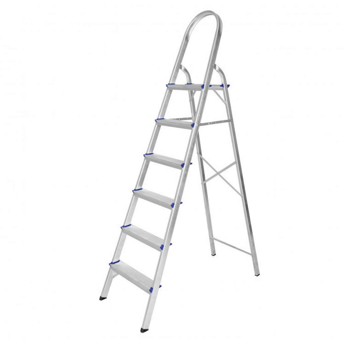 Escada Astra Dome Alumínio 6 Degraus Ref ESC1/5A