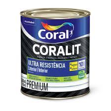 Esmalte Coral Coralit Ultra Resistência Balance Branco Brilhante 800 ml