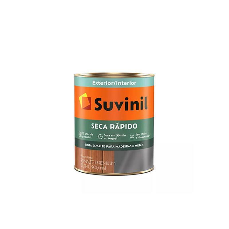 Esmalte Secagem Rápida Suvinil Base D'agua Brilhante Vermelho 900 ml