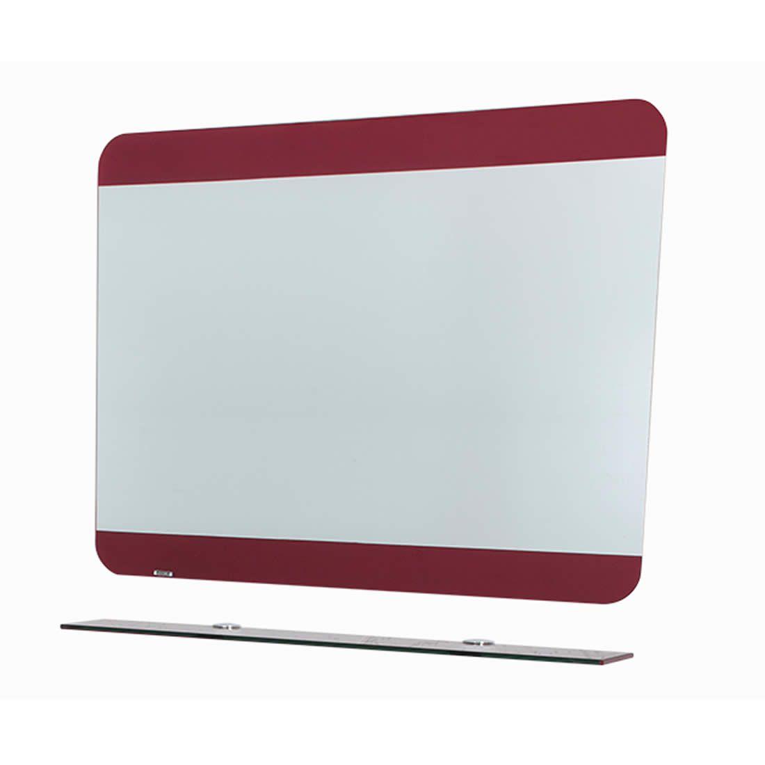 Espelheira Astra Romantique Vermelha 60 x 80 cm Ref EPBF/R