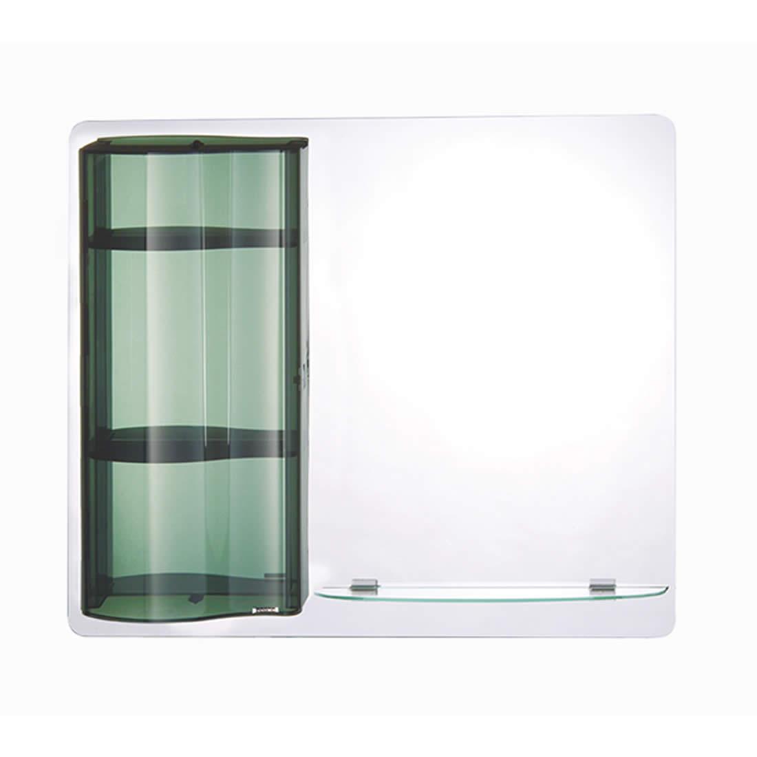Espelheira Astra Rubi Fume 74 x 59 cm Ref EPBF/R