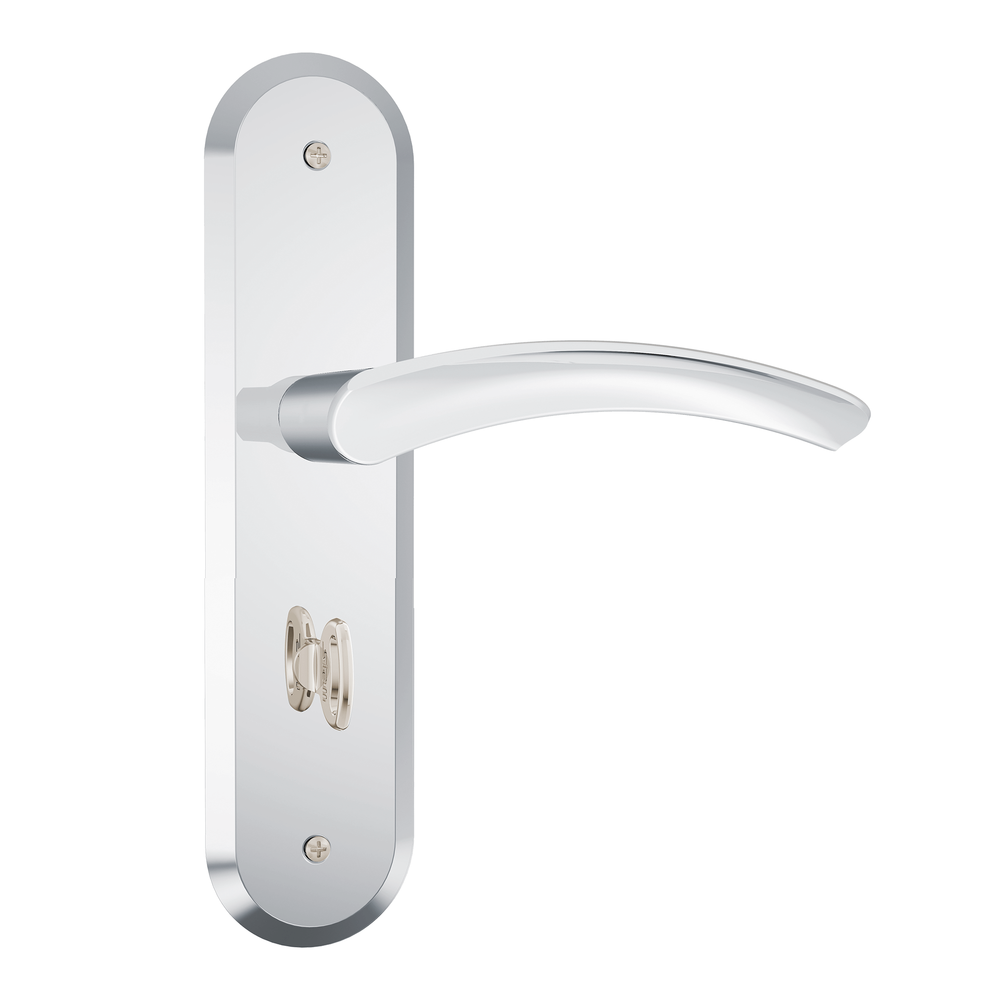 Fechadura Stam 1820/13 Espelhado Escovado WC