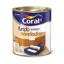 Fundo Nivelador Sintético Coral Branco 900 ml